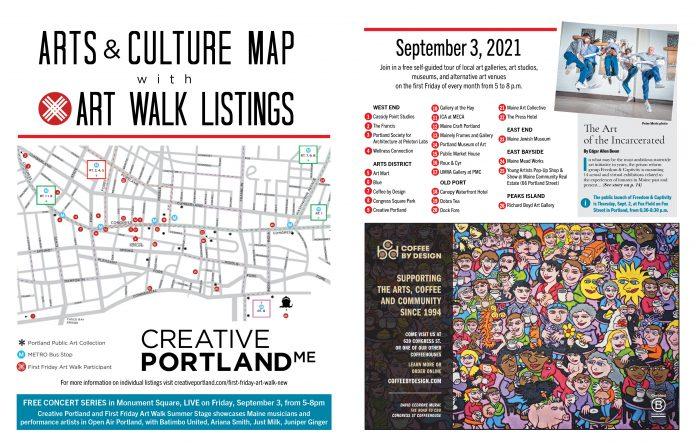 First Friday Artwalk, Portland Maine