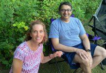 Jodi Freedman and Dr. Nirav Shah