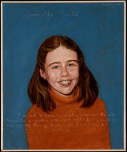 Samantha Smith by Robert Shetterly