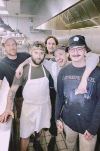 Little Giant kitchen staff