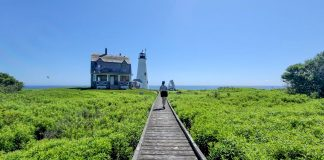 Wood Island boardwalk