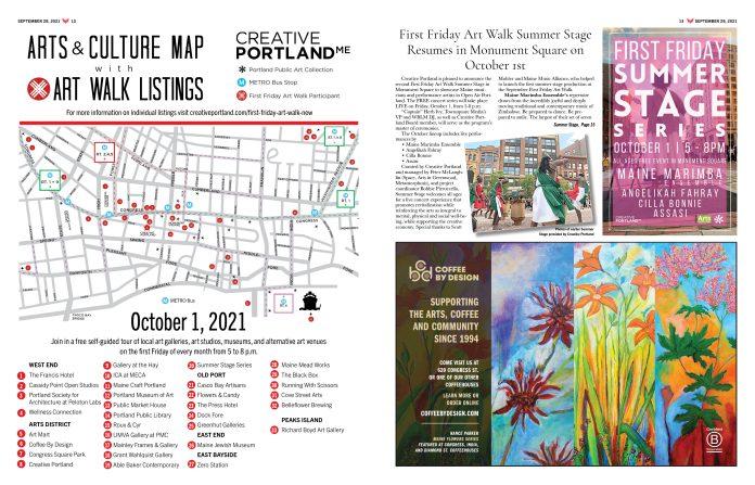Art Walk Oct. 1, 2021
