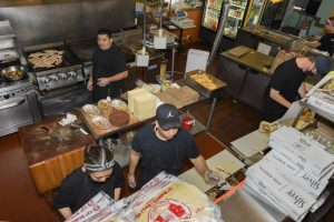 Taco Trio kitchen