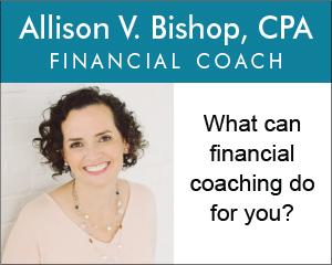 Allison Bishop, financial coaching